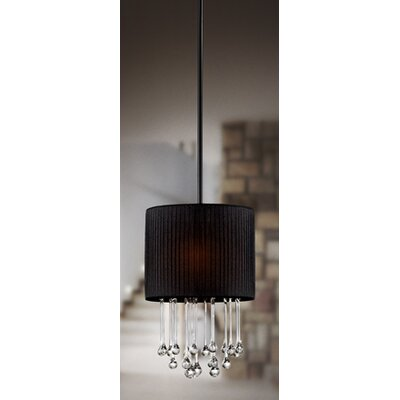 Penchant 1-Light Drum Pendant