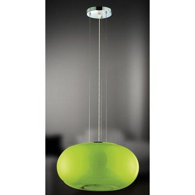 Pop-2 3-Light Convertible Globe Pendant Shade: Green