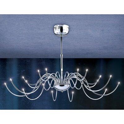 Kasper 20-Light Candle-Style Chandelier