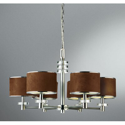 Savvy 6-Light Drum Chandelier