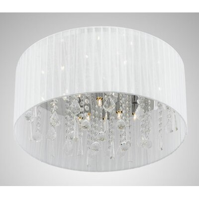 Demoya Convertible 12-Light Drum Pendant