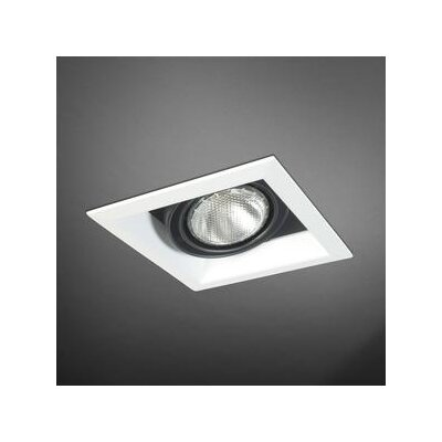 Eurofase One Light Square PAR20 Multi Recessed Trim in Black - Shade: Black at Sears.com