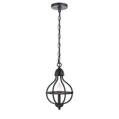Ricco 1-Light Foyer Pendant Finish: Bronze