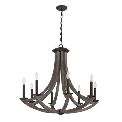Arcata 8-Light Candle-Style Chandelier