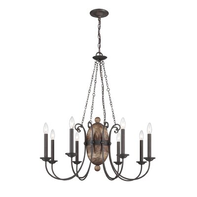 Albero 8-Light Candle-Style Chandelier