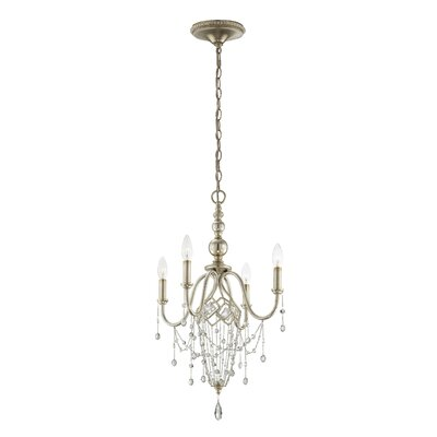 Collana 4-Light Crystal Chandelier