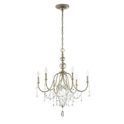 Collana 6-Light Crystal Chandelier