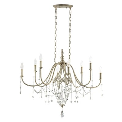 Collana 8-Light Crystal Chandelier