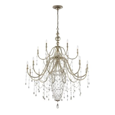Collana 18-Light Crystal Chandelier