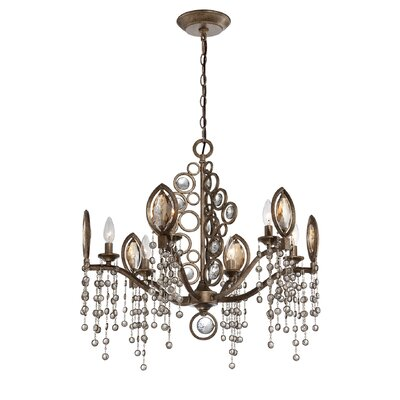 Capri 6-Light Crystal Chandelier