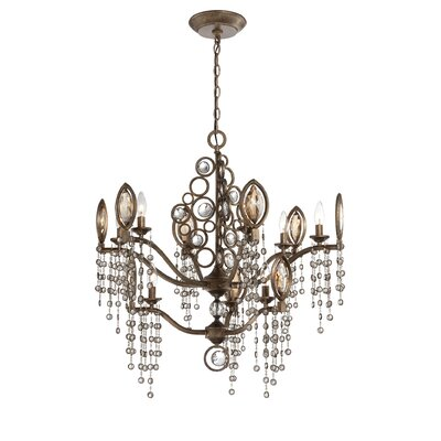 Capri 9-Light Crystal Chandelier
