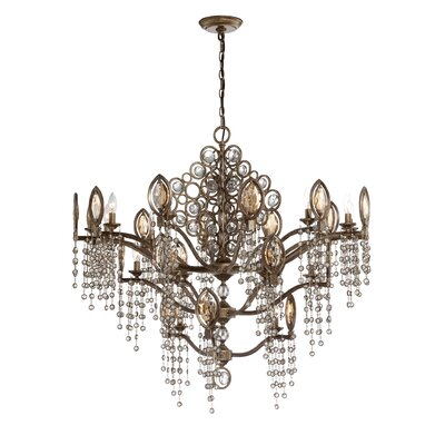 Capri 21-Light Crystal Chandelier