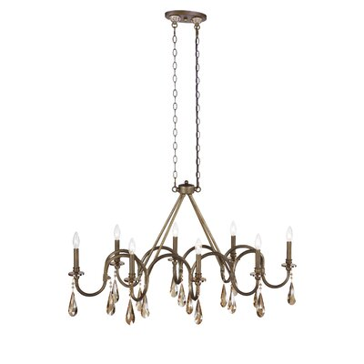 Padova 8-Light Candle-Style Chandelier