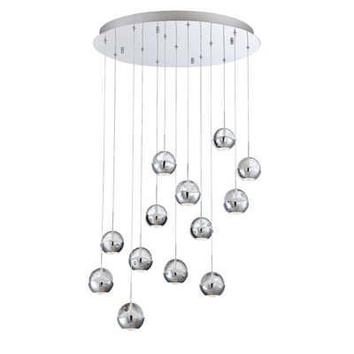 Ice 13-Light LED Cluster Pendant