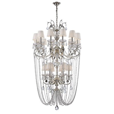 Volante 18-Light Crystal Chandelier