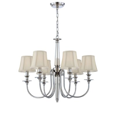 Mona 6-Light Candle-Style Chandelier