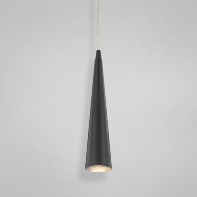 Sliver 1-Light Pendant Size: Small