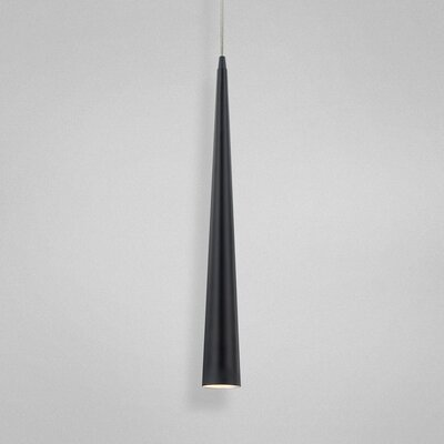 Sliver 1-Light Pendant Size: Medium