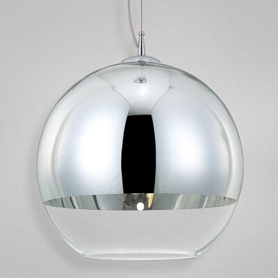 Chromos 1-Light Pendant Size: Large