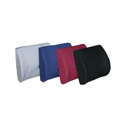 Lumbar Support with Cover Size: 13 W x 14 D
