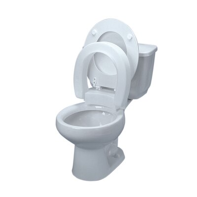 Elevated Round Toilet Seat