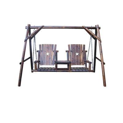 Char-Log T�te-�-T�te Swing Set