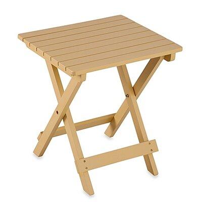 Adirondack Folding Table Finish: Buttercream