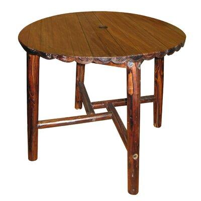 Char-Log Dining Table