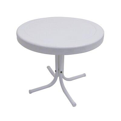 Retro White Side Table