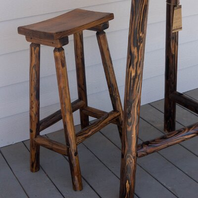Char-Log 28 Bar Stool