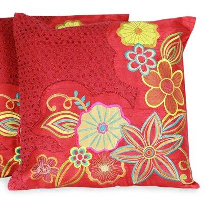 The Seema Applique Pillow Cover