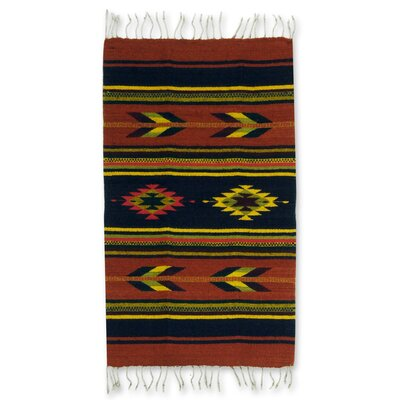 Swift Arrows Zapotec Rug Rug Size: 2 x 34