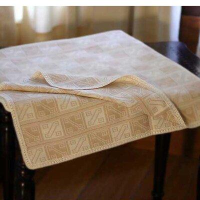 Hypnotic Inca Throw Blanket Color: Tan