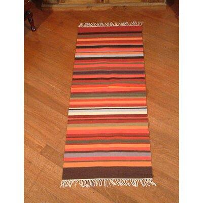 Highland Sunset Striped Area Rug Rug Size: 2 x 51
