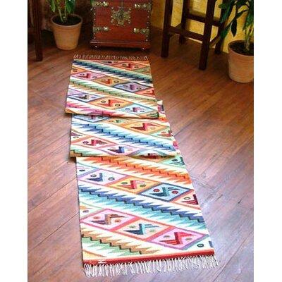 Rainbow Cascade Rug Rug Size: Runner 2 x 910