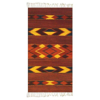 Arrow Zapotec Area Rug Rug Size: Rectangle 27 x 411