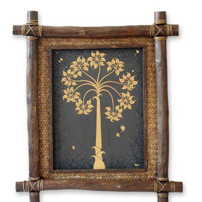 'Golden Bo Tree' Wall Art