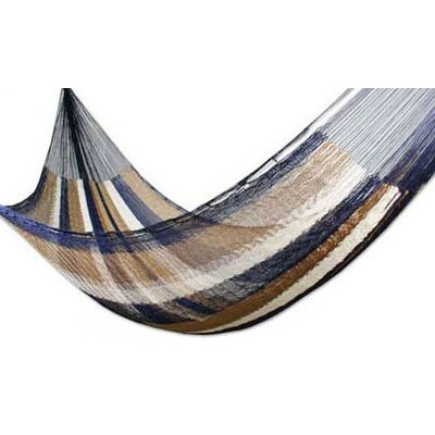 Maya Artists of the Yucatan Nylon Tree Hammock Color: Dreaming of Rainbows, Size: 3.9 X 13.1