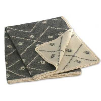 Inca Duck Throw Blanket Color: Mist