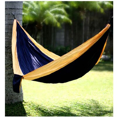 Dreams Parachute Nylon Camping Hammock Color: Navy Blue