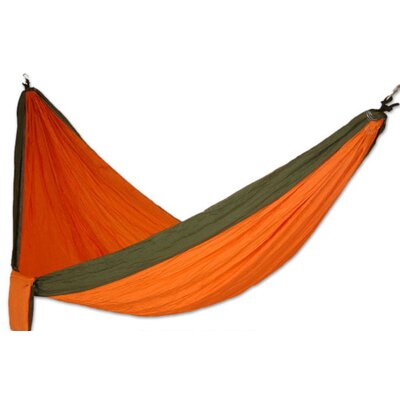 Dreams Parachute Nylon Camping Hammock Color: Orange