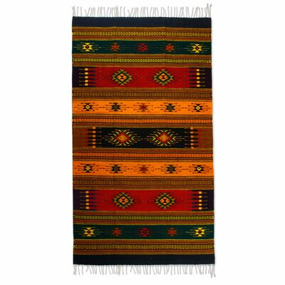 Fair Trade Hand-Loomed Area Rug
