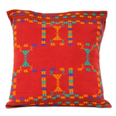Sequences Cotton Pillow Cover