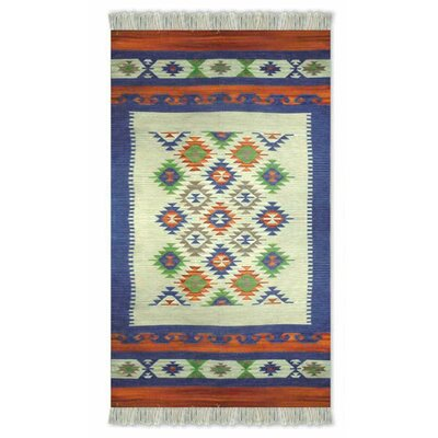 Dhurrie Hand-Woven Area Rug