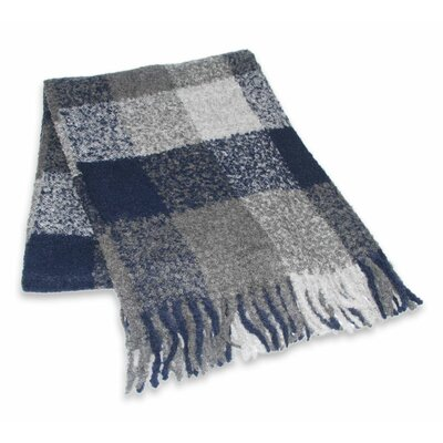 Collectible Geometric Patterned Alpaca Wool Throw Blanket