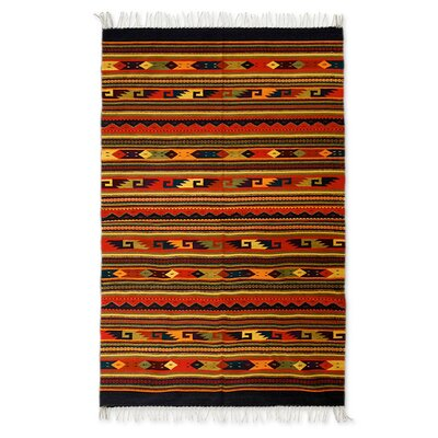 Hand-Loomed Area Rug