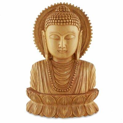 Serene Buddha I Wood Figurine 212770