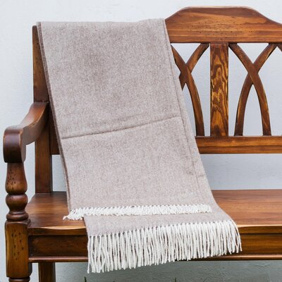 Ultra Soft Baby Alpaca Wool Throw Blanket