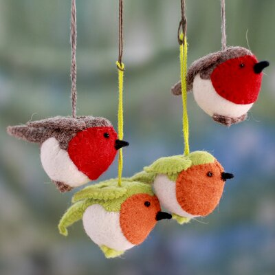 Christmas Bird Ornament 216892