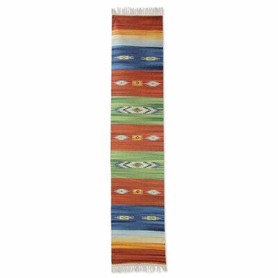Sonik Sethi Hand-Woven Area Rug Rug Size: 110 x 31